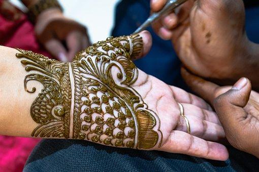 Mehandi, Henna, Hand, Design, Fashion, Tattoo, Pattern