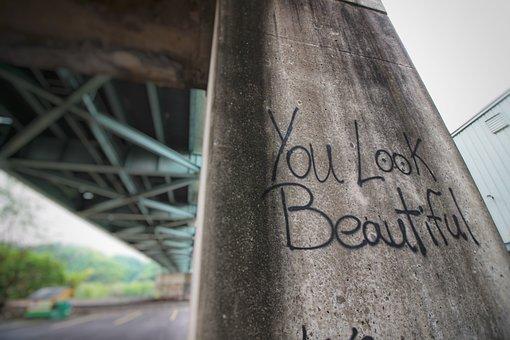 Pittsburgh, Bridge, Graffiti, Pennsylvania, Urban