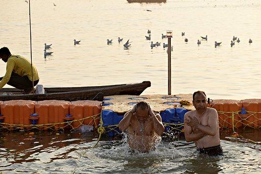 Ganges River, Pragraj, Kumbh, Sacred, River, Ganges