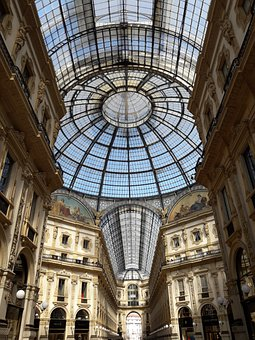 Milan, Dome, Style, Fashion, Quadrilatero D'oro, Golden