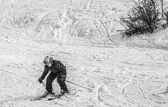 Skiing, Sports, Mountains