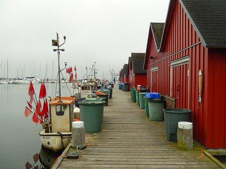 Baltic Sea, Boltenhagen, Fishing Port, Sea, Vacations