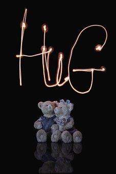 Hug, Love, Heart, Couple, Relationship, Baby, People