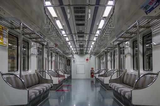 Seoul Subway, Line 5, Train, Internal