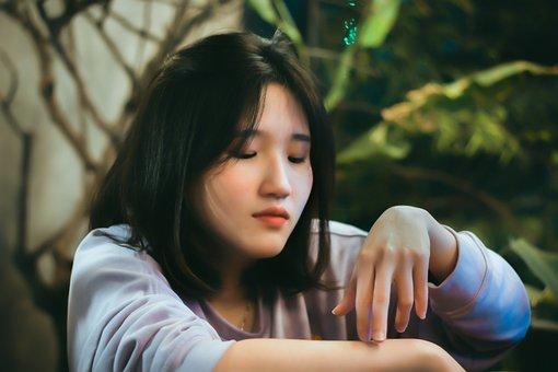 Asia, Girl, Fantasy, Vietnam, Korea, Outside, Sunset