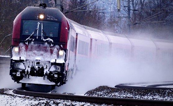 Train, Ice, Platoon Leader, Corona, Masks, Railjet
