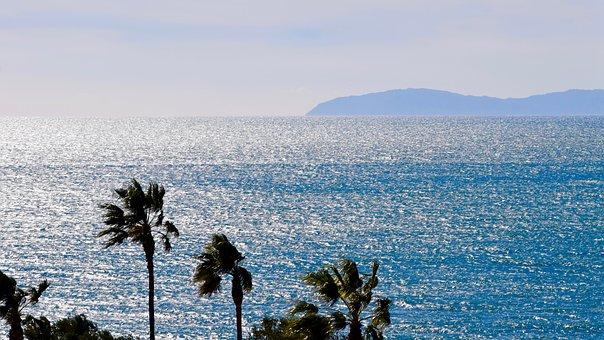 View, Ocean, Sea, Water, Coast, Horizon, Blue, Catalina
