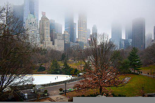 Wollman Rink, Central Park, New York, Nyc, Travel