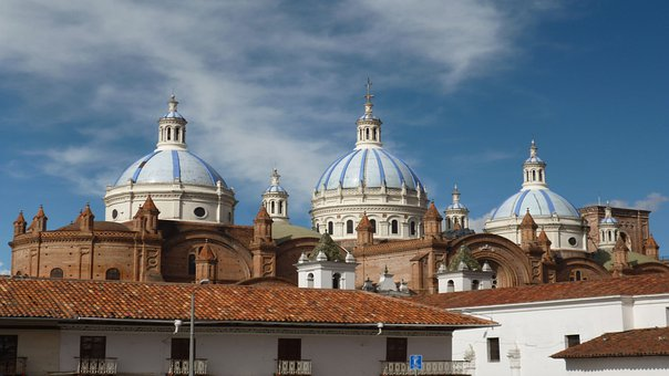 Cuenca, Ecuador, Architecture, City, Travel, Cathedral