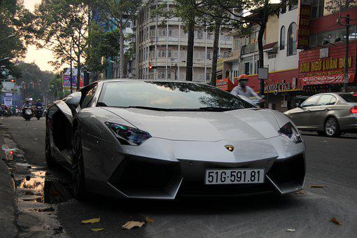 Lamborghini, Aventador, Supercar, Car, Vehicle