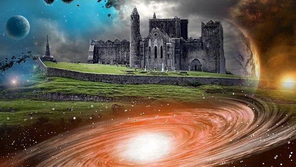 Castle, Architecture, Universe, Fantasy, Medieval