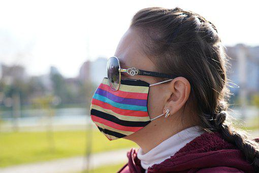 Girl, Mask, Coronavirus, Covid-19, Face Mask, Pandemic