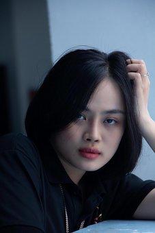 Female, Asian, Portrait, Model, Young Woman, Woman