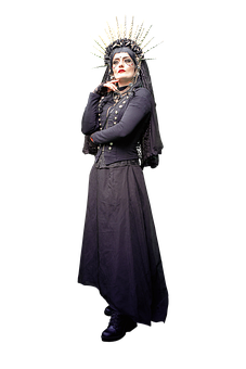 Woman, Sorcerer, Costume, Magician, Female, Character