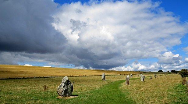 Avebury, England, Monument, Neolithic, Stone Circle