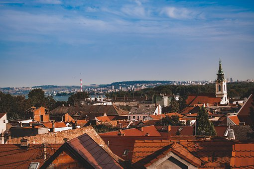 Town, Buildings, Panorama, Roofs, Houses