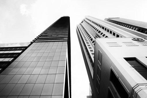 City, Skyscrapers, Singapore, Center, Trip, Torre