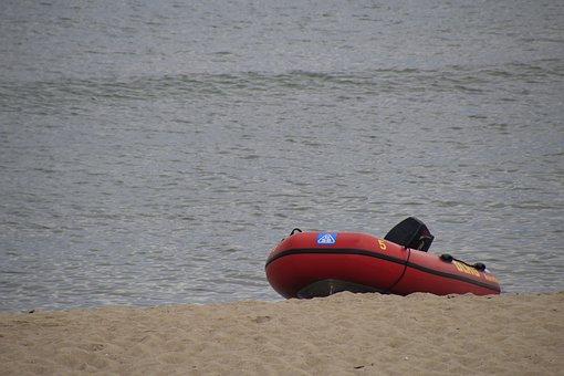 Boat, Emergency Medical Services, Dlrg, Use, 112, Save