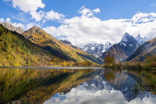 Mountains, Lake, Rocks, Forest, Alps, Travel, Alpine