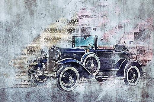Auto, Vehicle, Oldtimer, Automotive