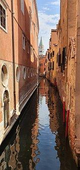 Venice, Buildings, Canal, Channel, Water, Waterways