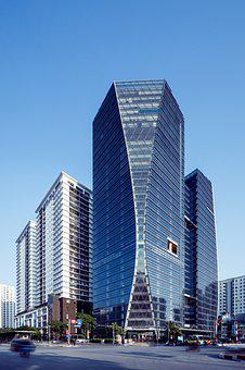 Hud Tower, Buildings, City, Skyscrapers, Skyline