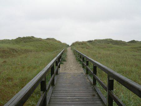 North Sea, Ording, Coast, Beach, Wadden Sea, Germany