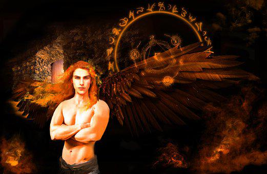 Angel, Wings, Fantasy, Mystic, Wing, Pen, Magic