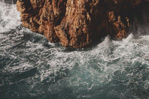 Marine, Wave, Water, Ocean, Kennedy, Rocky, Landscape