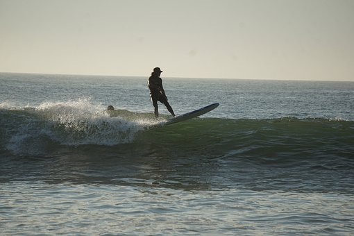 Surfer, Surfing, Mexico, Beach, Ocean, Wave