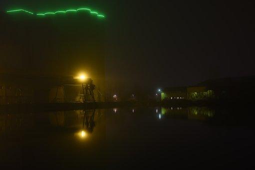 Mirroring, Fog, Gloomy, Nikonz6, 50 Mm