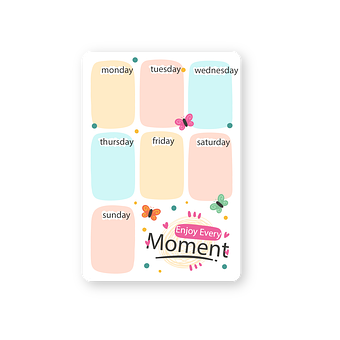 Note, Weekdays, Paper, Memo, Doodle, Post, Stationery