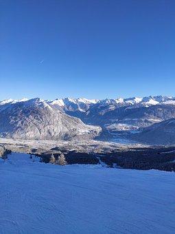 Imst, Winter, Snow, Mountains, Alps, Tyrol, Austria