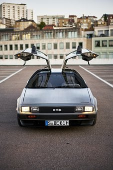 Car, Vehicle, Delorean, Wheels, Dmc-12