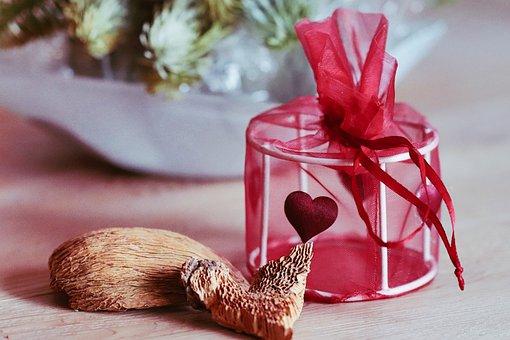 Gift, Love, Valentine, Valentine's Day, Heart, Birthday