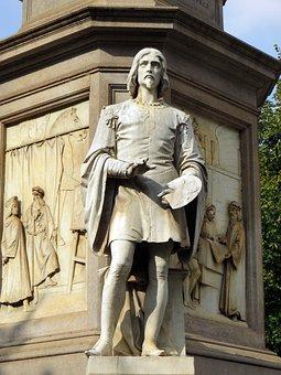 Statue, Michelangelo, Monument, Painter, Sculpture