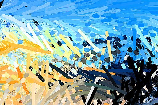 Art, Abstract, Background, Design, Painting, Color