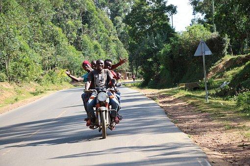 People, Motorcycle, Travel, Road, Driver, Engine, Kenya