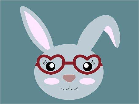 Hare, Face, Icon, Animal, Cute, Funny, Head
