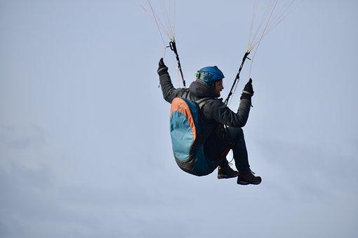 Paragliding, Fifth Wheel, Paraglider, Free Flight