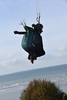 Paragliding, Paraglider, Fifth Wheel, Free Flight, Fly