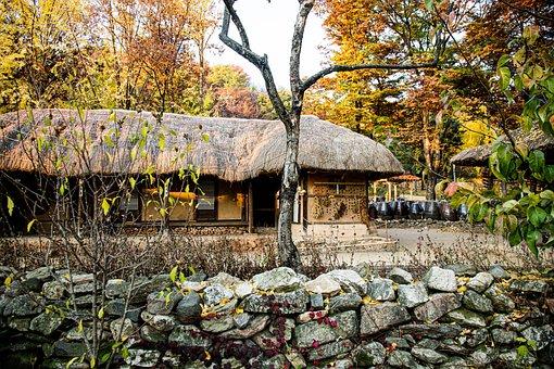 Korea Folk Village, Korea, Tradition, House, Youngin