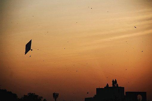 Evening, Sky, Orange, Sunset, Sun, Nature, Mood