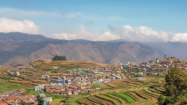 Kodaikanal, Mount, View, Landscape, Nature, Travel
