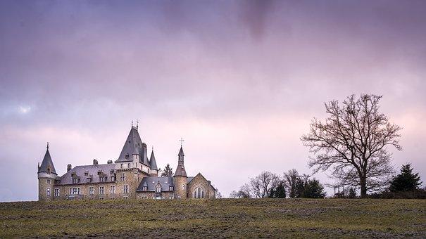 Castle, Landscape, Nature, Architecture, Europe, Travel