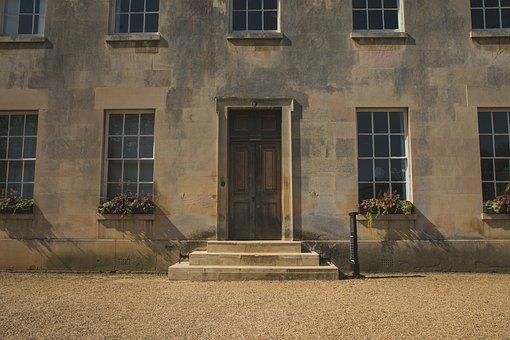Door, Wood, Dorms, Uni, University, Cambridge, College