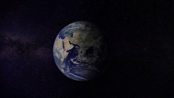 Planet, Earth, Universe, World, Space, Moon, Astronaut