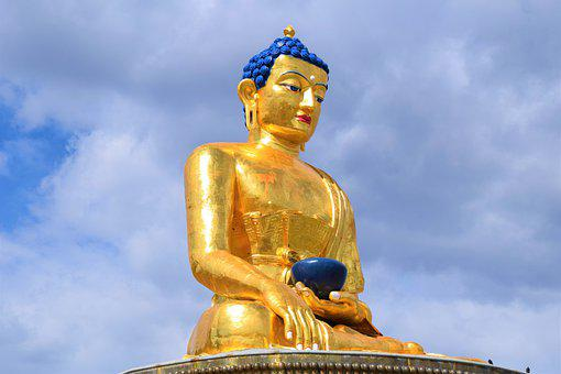 Buddhism, Golden, Statue, Temple, Buddhist, Meditation