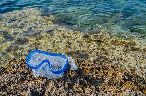 Snorkeling Mask, Coast, Sea, Mask, Diving, Seashore