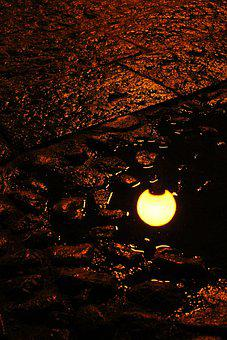 Street Light, Reflection, City, Street, Urban, Light